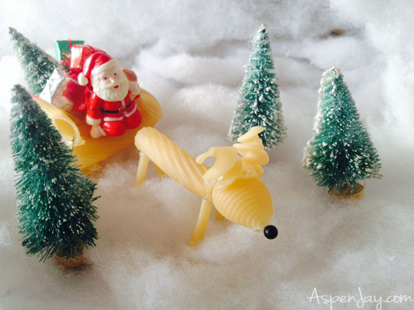 Reindeer Noodle Christmas Craft Aspen Jay