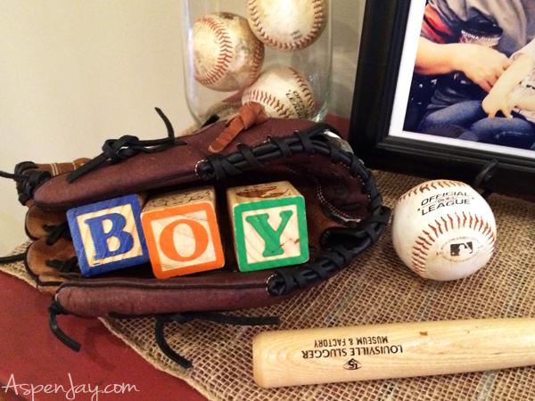 Baseball Themed Baby Shower - Aspen Jay
