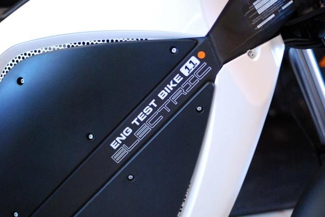 Tradition Is Not A Business Model: Brammo Brammo Enertia engineering test bike1 635x425
