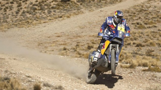 Cyril Despres Wins 2010 Dakar Rally   Aprilias Francisco Lopez Finishes 3rd   Marc Coma 18th Dakar Rally 2010 KTM 2 635x356