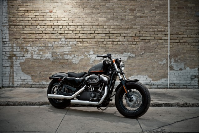 Harley Davidson Forty Eight: The Gen X Sportster Harley Davidson Forty Eight 635x423