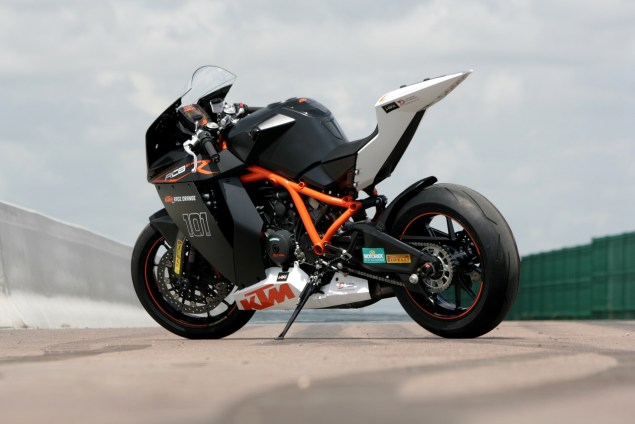Bajaj to Acquire 90% Stake in KTM? KTM RC8 R ground level 635x424