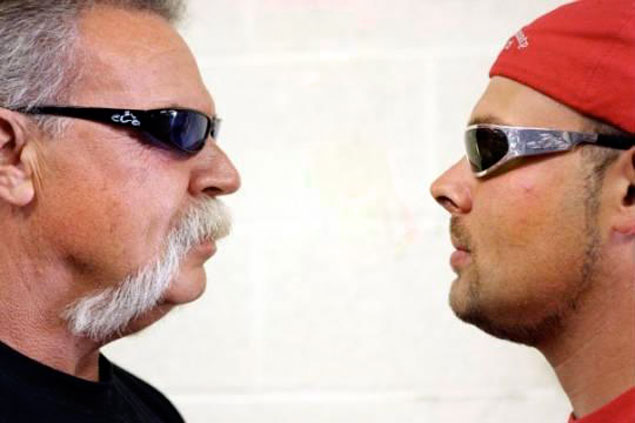 American Chopper is Back: Senior vs. Junior american chopper junior vs senior