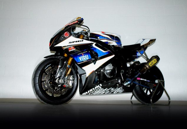 Haslam Looks for More Support from Suzuki Japan Leon Haslam out suzuki alstare 635x440