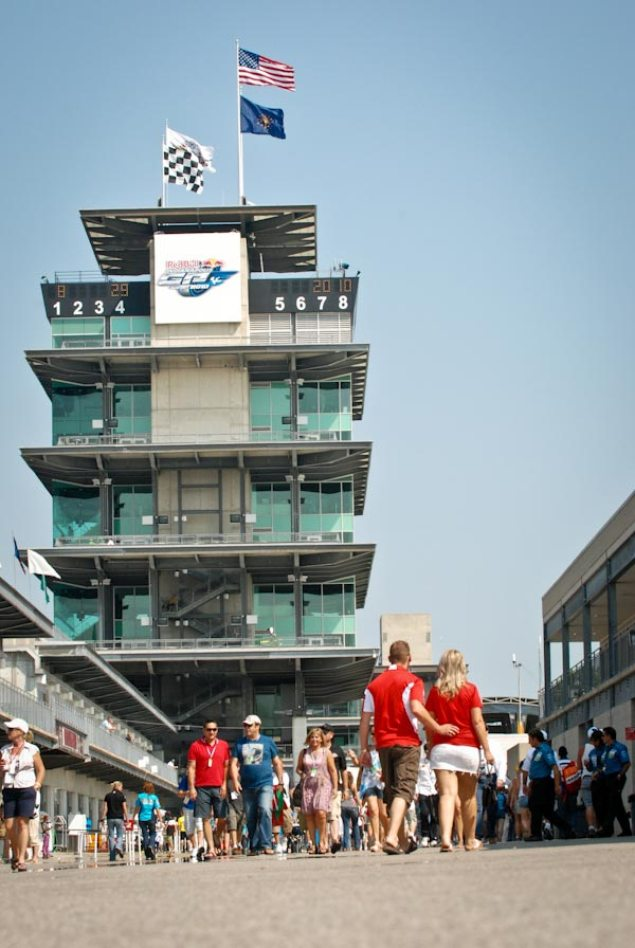 Mixed Responses from Riders over Indianapolis Motor Speedways Renewal with MotoGP Indianapolis Motor Speedway Pagoda