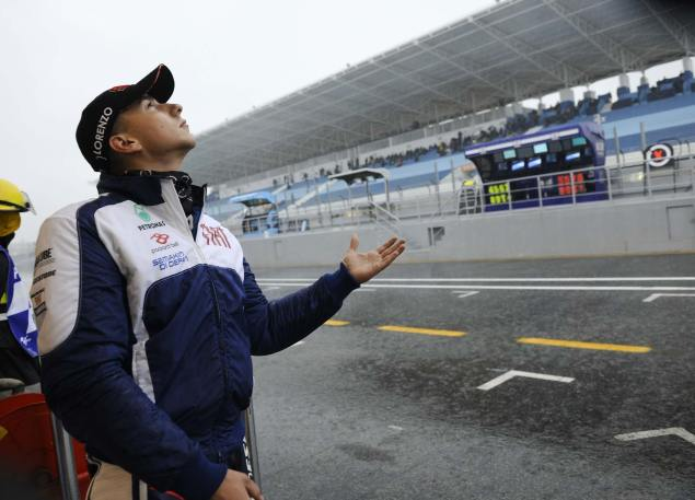 Torrential Rain Cancels MotoGP Qualifying at Estoril Estoril Portuguese GP MotoGP rain 1 635x457