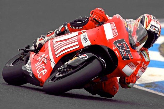 Official: Loris Capirossi to Pramac Ducati Loris Capirossi Ducati Desmosedici GP711 635x422