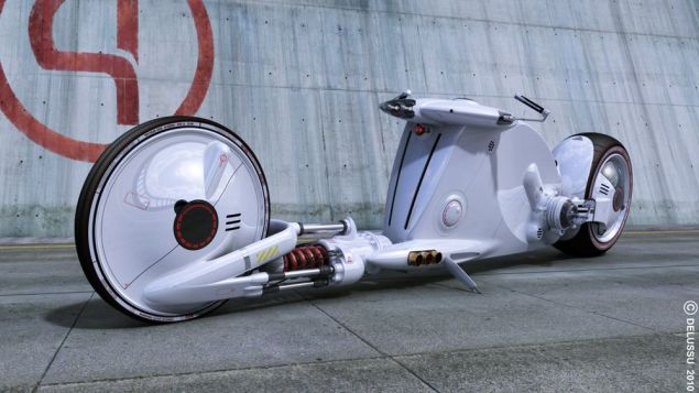 Snake Road Motorcycle Concept by Bruno Delussu Bruno Delussu Snake Road concept 2 635x357