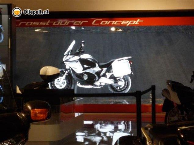 First Look: Honda Crosstourer Concept Honda Crosstourer concept 635x475