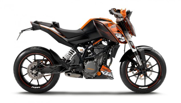 Bajaj Gobbles Up Some More KTM Stock KTM 125 Duke 635x360