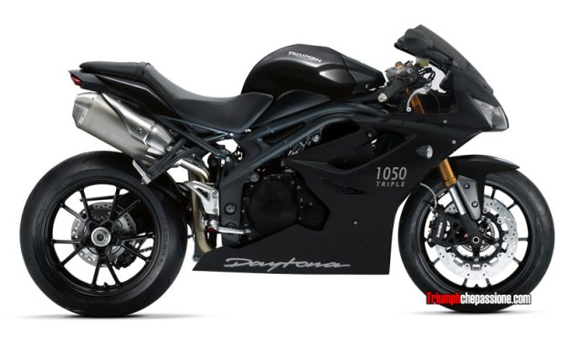 Triumph Daytona 1050 Imagined 2011 Triumph Daytona 1050 imagined 635x377