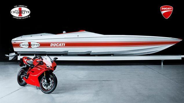 Cigarette Racing 42X Ducati Edition Racing Boat Cigarette Racing 42X Ducati Edition Racing Boat 4 635x357