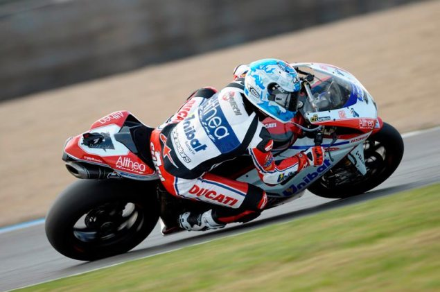WSBK: More than Close Racing in Race 1 at Donington Park Carlos Checa Donington Park1 635x421