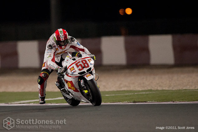 Saturday at Qatar with Scott Jones Qatar GP Qualifying Scott Jones 9
