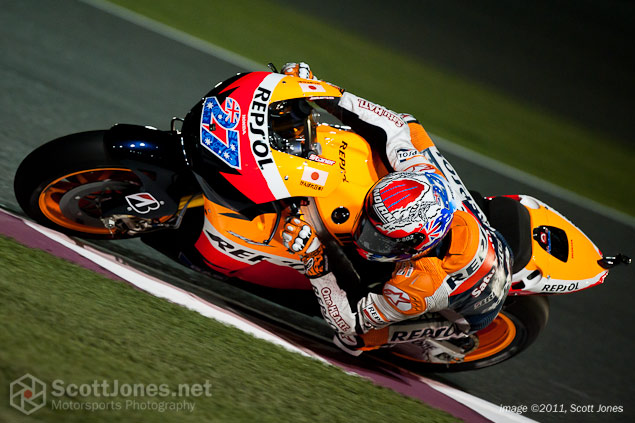 Photo of the Week: Desert Heat photo of the week casey stoner qatar gp