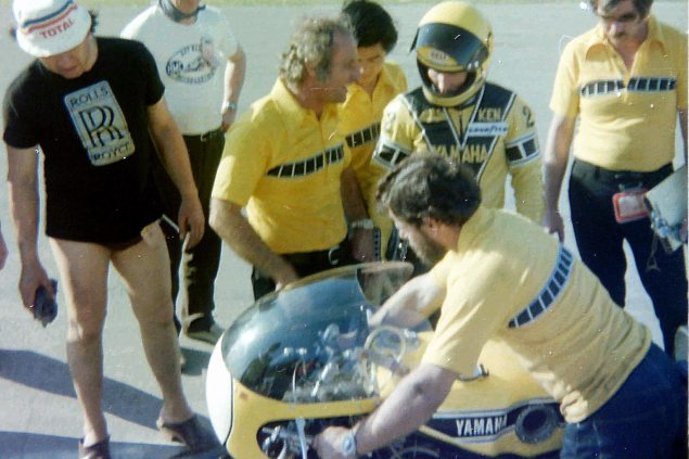 Photos: The Daytona 200 Thirty Five Years Ago   When Bikes Were Bikes & Men Were Men robertscurruthers1976 635x423