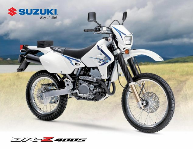 Parody: 10 years of the Suzuki DR Z 2011 Suzuki DRZ promo 635x490
