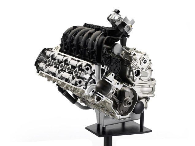 BMW Motorrad Posts Best Quarterly Sales Ever BMW K1600GT engine cutaway 635x476
