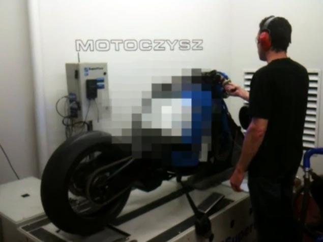 2011 MotoCzysz E1pc Features 200+hp Motor 2011 MotoCzysz E1pc dyno