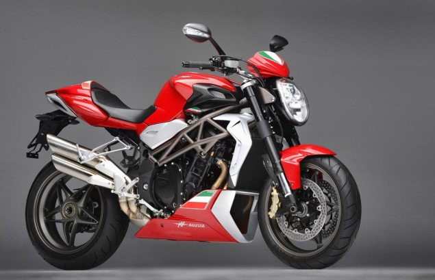 MV Agusta Brutale 990R for 150 Years of Italian Unification MV Agusta Brutale 990R 150 Year Anniversary Italy Unificaiton 3 635x409