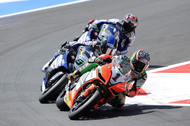 WSBK Director Takes Stand on Biaggi Penalty at Monza Max Biaggi WSBK Monza 635x423