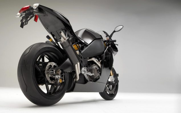 2012 Erik Buell Racing 1190RS   $39,999 MSRP 2012 Erik Buell Racing 1190RS rear 635x396