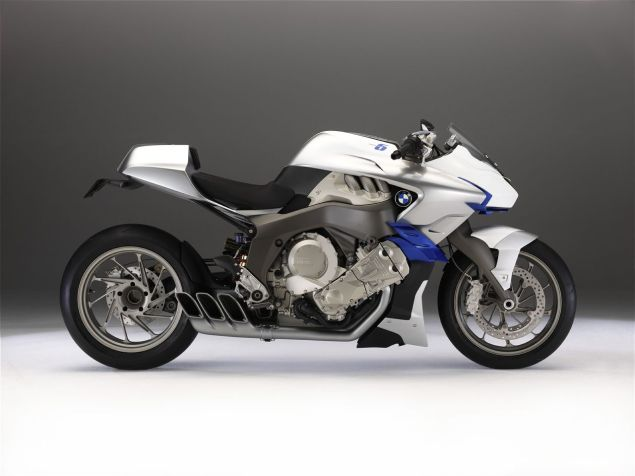 Rumor: BMW K1600R Six Cylinder Naked Bike in the Works BMW Concept 6 635x476