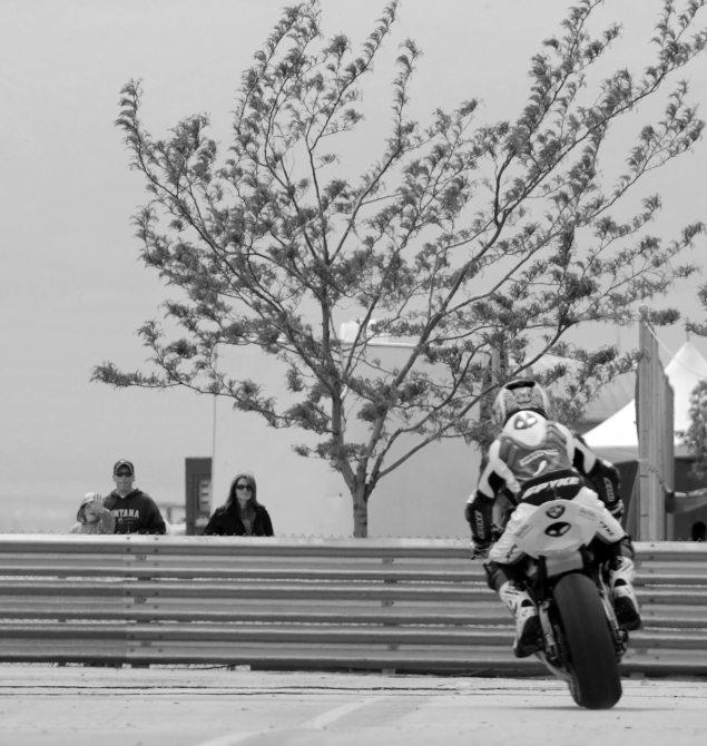Miller Motorsports Park by Jensen Beeler troy corser kid waving 635x670