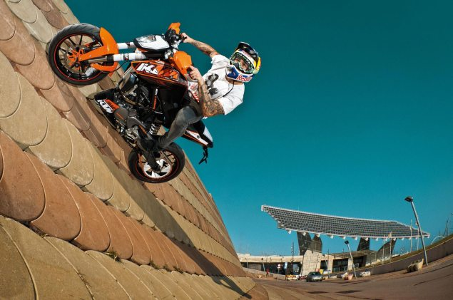 Analyst Report: Bajaj May Take a 49% Stake in KTM KTM 125 Duke Stunt 635x421