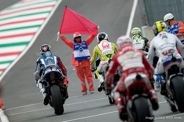 MotoGP Riders to Boycott Motegi Round Red Flag Mugello MotoGP