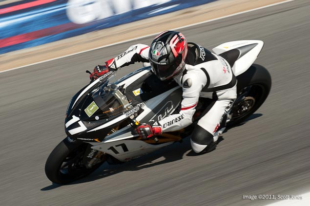 How is Steve Rapp Like Moses? They Were Both on a Mission to the Promised Land Saturday Laguna Seca Scott Jones 10