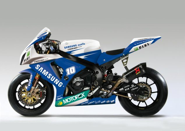 John Hopkins to Wild Card at WSBK Silverstone Round samsung crescent suzuki gsxr1000 635x448
