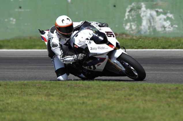 Ride Review: Riding the BMW S1000RR Superstock, Satellite Superbike, and Factory World Superbikes BMW S1000RR test Monza Haslam Superbike 81 635x421