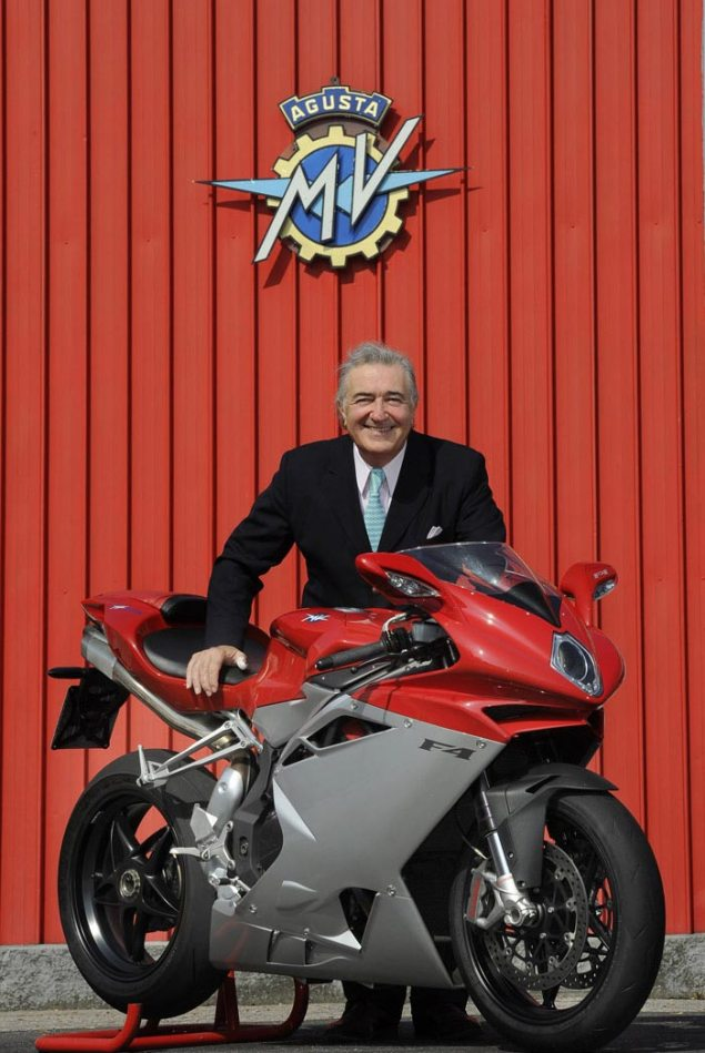 Claudio Castiglioni Passes Away at the Age of 64 Claudio Castiglioni MV Agusta 635x949