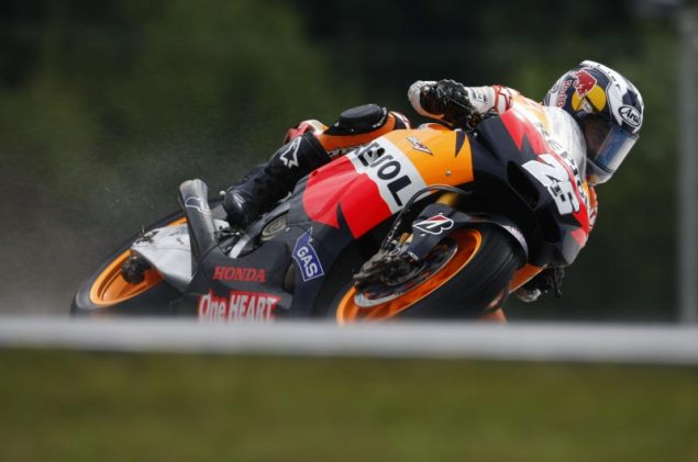 MotoGP: Sunshine & Qualifying at Brno Dani Pedrosa Qualifying Czech GP Brno 635x421