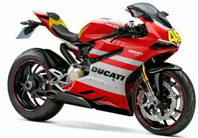 Ducati Superbike 1199 Will Have Gear Driven Cams  Ducati Superbike 1199 Superquadrata Valentino Rossi