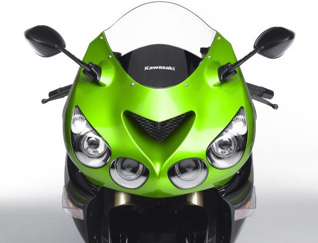 Rumor: New Kawasaki ZX 14 Facelift Coming This Month? Supercharged Hypersport Later? Kawasaki Ninja ZX 14 635x484