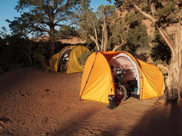 A Tent for Adventure Motorcycles Redverz adventure tent 3 635x476