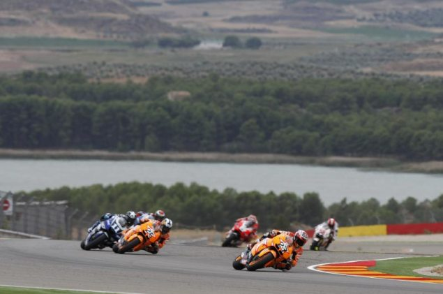 Honda to Field Eight Riders at the Japanese GP Honda Aragon 635x421