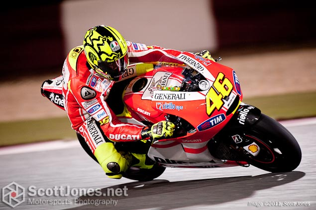 Photo of the Week: Unmet Expectations Photo of the week Valentino Rossi Qatar brake discs Scott Jones