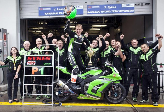 Kawasaki Tightening Control Over WSBK Team in 2012   Paul Bird Motorsport Out Tom Sykes Kawasaki Victory 635x433