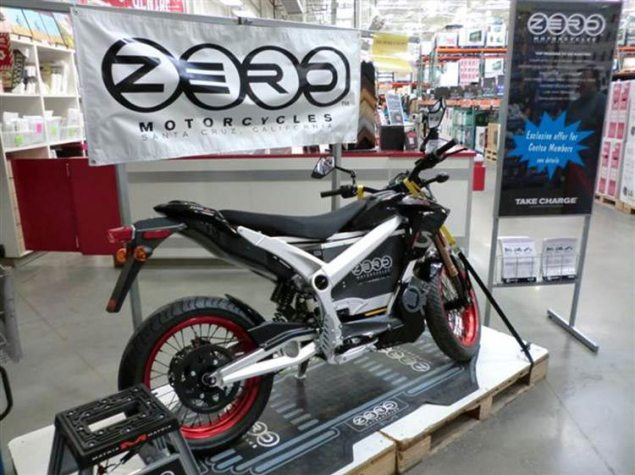 Costco and Zero Motorcycles Partner in Canada Zero Motorcycles Costco 635x475