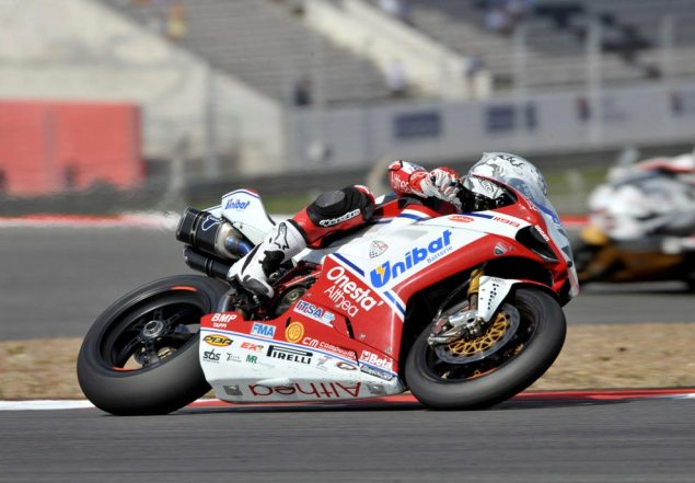 Carlos Checa Re Signs with Althea Ducati...Finally Carlos Checa Althea Ducati WSBK Portimao 635x441