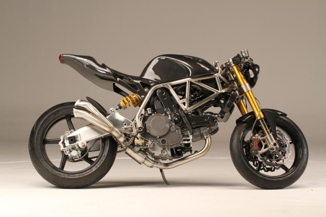 NCR M4 ONE SHOT   Ducati Monster Lovers, Your Christmas Has Been Ruined NCR M4 Carbon Right Side 635x423