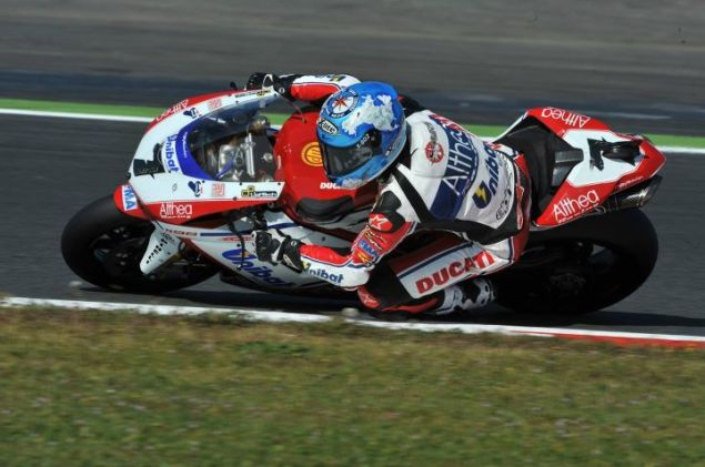 WSBK: A Victory in Race 1 at Magny Cours Brings About a Victory in the Championship checa2 pirelli mc 635x421