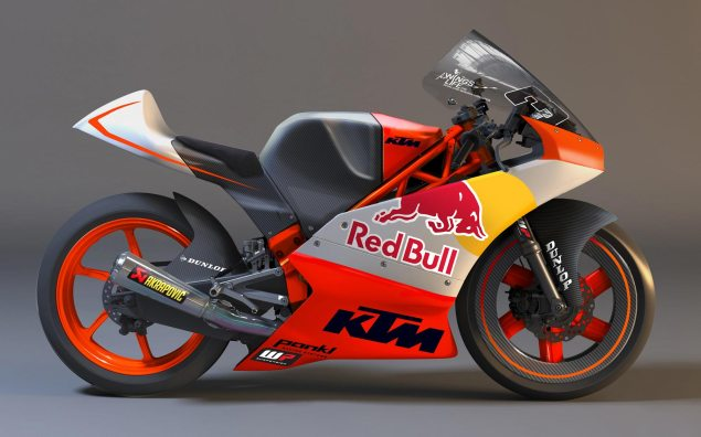 KTM Fielding Three Rider Factory Moto3 Team 2012 ktm moto3 race bike 635x396
