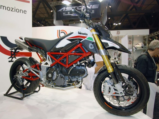 Up Close with the Bimota DB10 Bimotard Bimota DB10 Bimotard EICMA 103 635x476