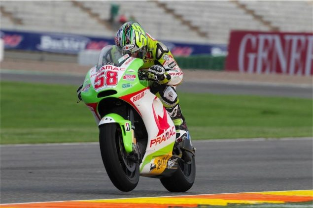MotoGP: Surprisingly Dry Qualifying at Valencia Loris Capirossi Pramac Ducati SuperSic 635x423