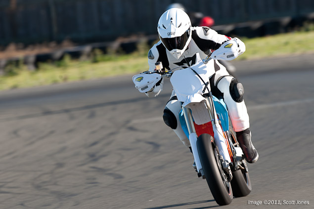 Ride Review: BRD RedShift Supermoto Prototype BRD RedShift SM test Infineon Scott Jones 13