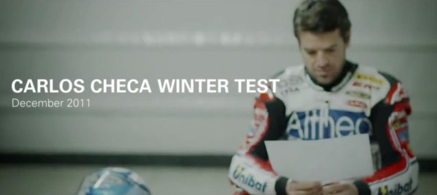 Carlos Checas Ducati Corse Winter Test Carlos Checa Ducati Xmas Winter test 635x284